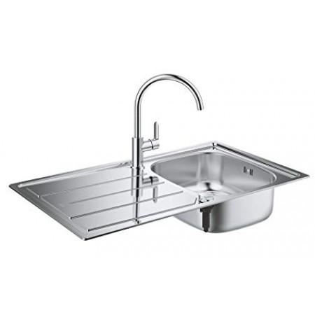 Комплект кухненска мивка Grohe със смесител за кухня 31562SD0