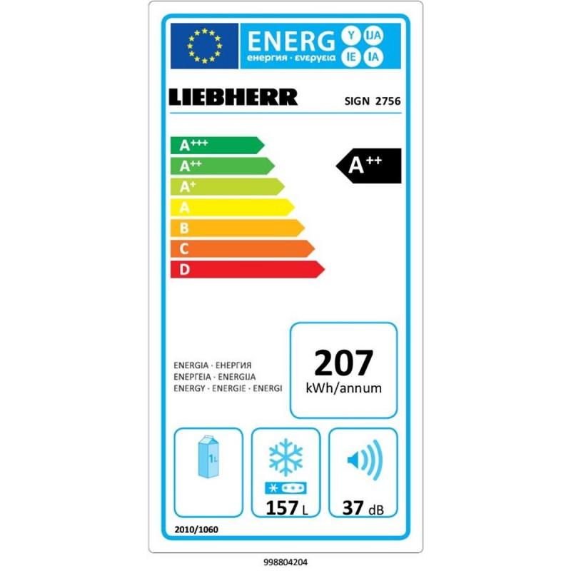 Фризер за вграждане Liebherr SIGN 2756