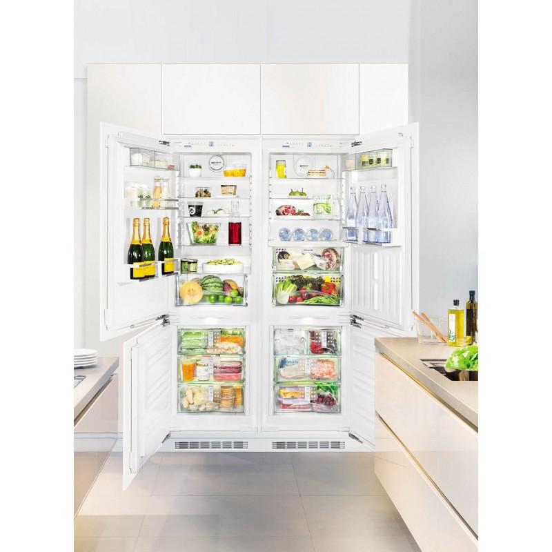 Хладилник за вграждане, NoFrost, SIDE BY SIDE за вграждане LIEBHERR SBS 66I3 Premium