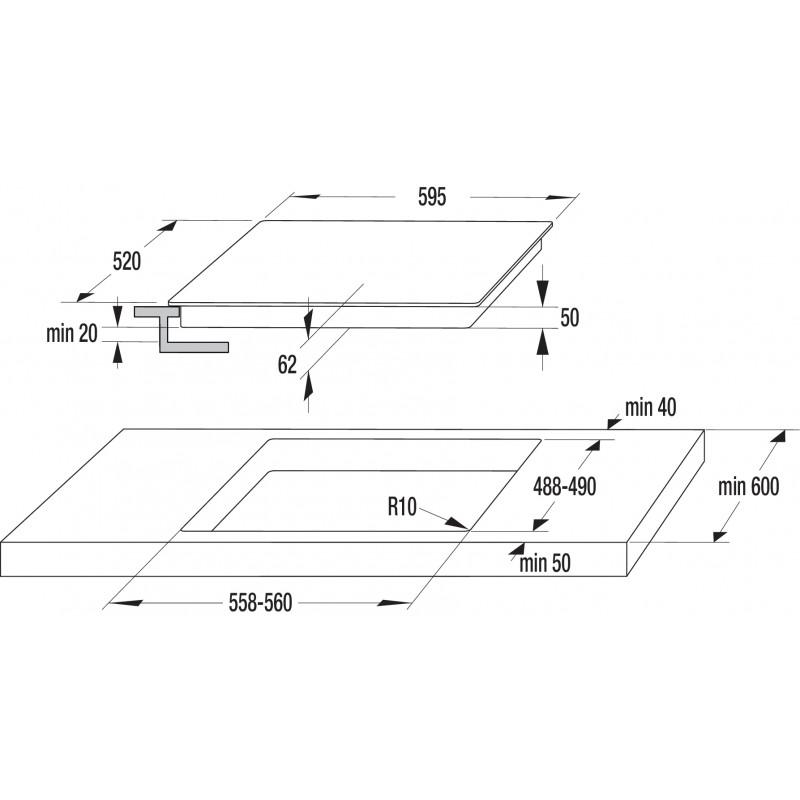 Индукционен плот за вграждане Gorenje IS634ST