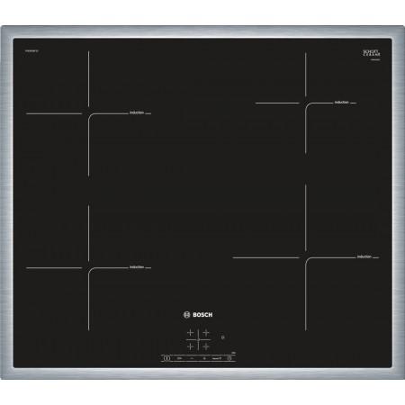 Индукционен стъклокерамичен готварски плот Bosch PUE645BF1E