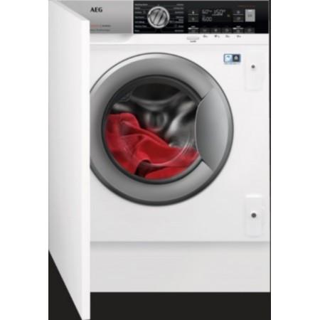 Вградена пералня със сушилня AEG L8WBE68SI