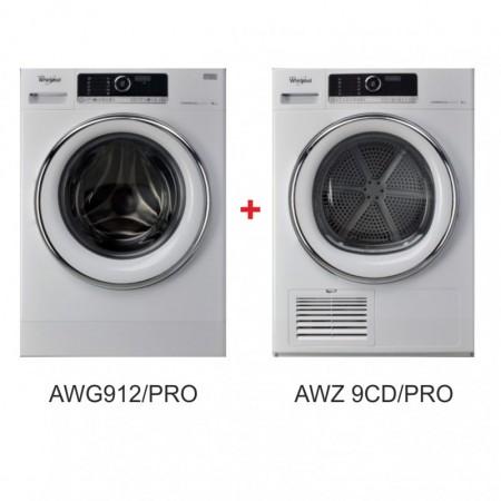 AWG912/PRO + AWZ 9CD/PRO Комплект 9 кг Whirlpool