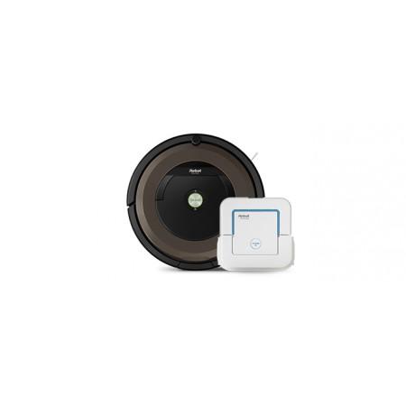 Роботизирана прахосмукачка Roomba 896 + Braava jet 240