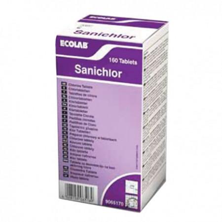 ECOLAB Sanichlor таблетки-Хлорни таблетки 6 кутии x 160бр.