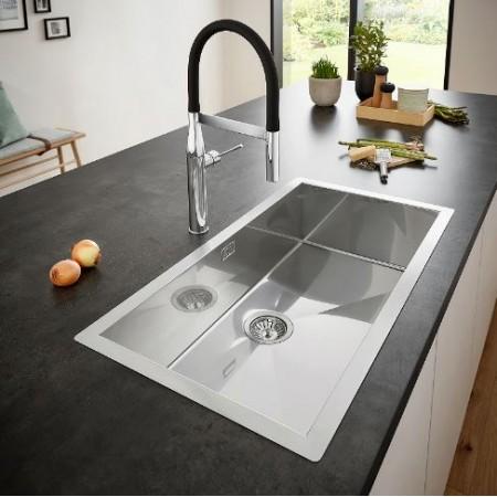 Кухненска мивка за монтаж под плот